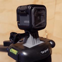 Descargar Modelos 3D para imprimir gratis Soporte para trípode GoPro (Targus), ProteanMan