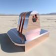 Download free STL GoPro Tripod Mount (Targus), ProteanMan