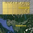 Download free 3D printing designs Vancouver Canada - 3D Map, ProteanMan