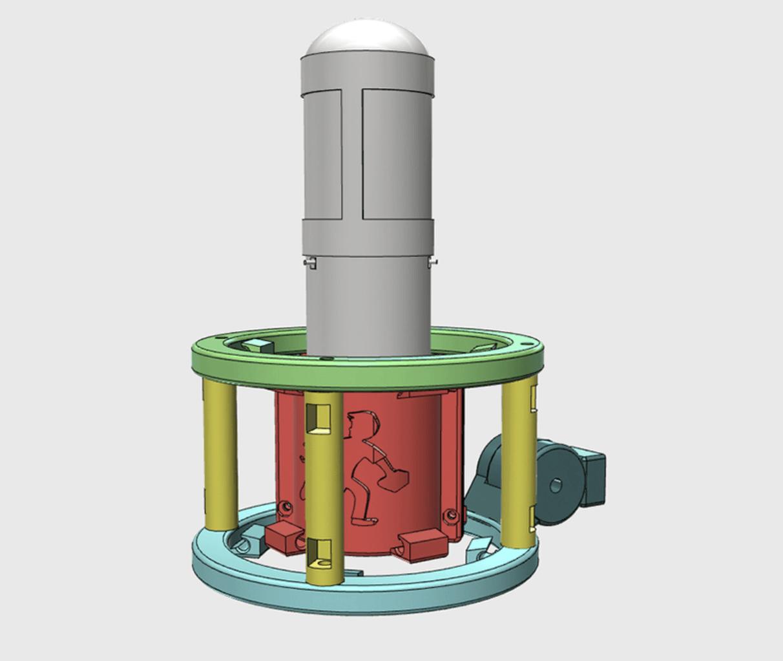 Capture d'écran 2018-04-16 à 15.07.29.png Download free STL file MXL 4000 Shock Mount (Custom) • 3D printer object, ProteanMan