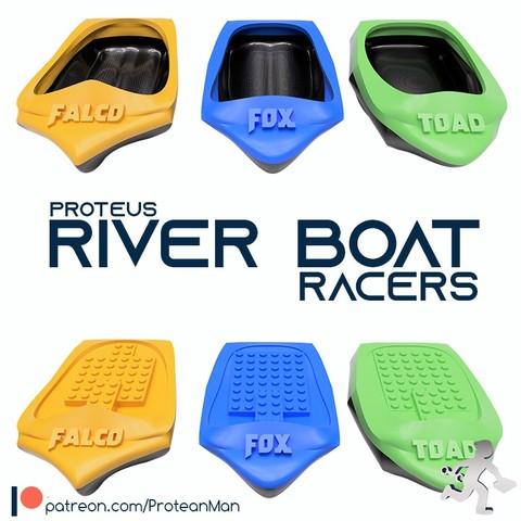 Download free 3D model Proteus River Racers, ProteanMan