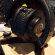 Free 3d print files Headphone Stand, ProteanMan