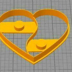 corazonyinyang.JPG Download STL file heart ying yang • 3D printer design, euge_bauer