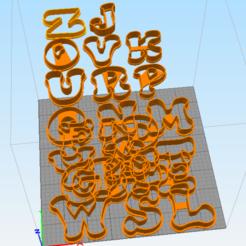Télécharger fichier imprimante 3D alphabet, euge_bauer