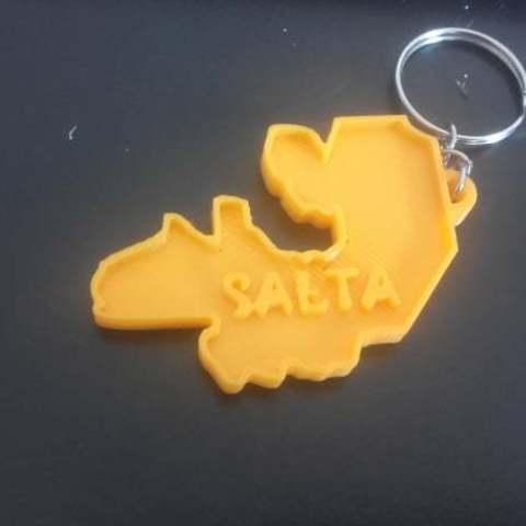 llavero Salta Argentina.jpg Download STL file euge • 3D printing model, euge_bauer