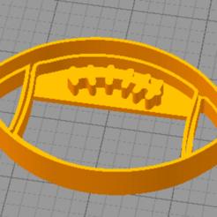Rugby1.PNG Télécharger fichier STL Coupe-biscuits de rugby • Modèle pour imprimante 3D, euge_bauer