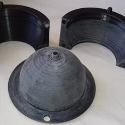 3D printer models pot mold, asage481