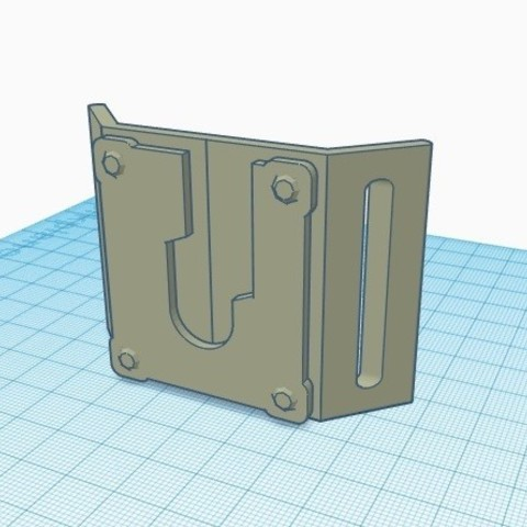 view 1.jpg Download free STL file Lightsaber Covertec holder • 3D printable object, typicaltimelord