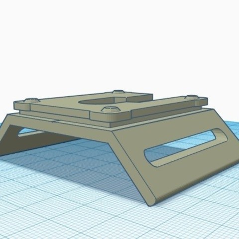 view 2.jpg Download free STL file Lightsaber Covertec holder • 3D printable object, typicaltimelord