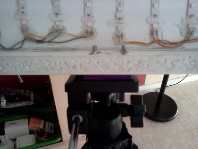 IMG1592.jpg Download free STL file DIY lighting bracket (with 1/4 nut) • 3D printing template, Birdo-3D