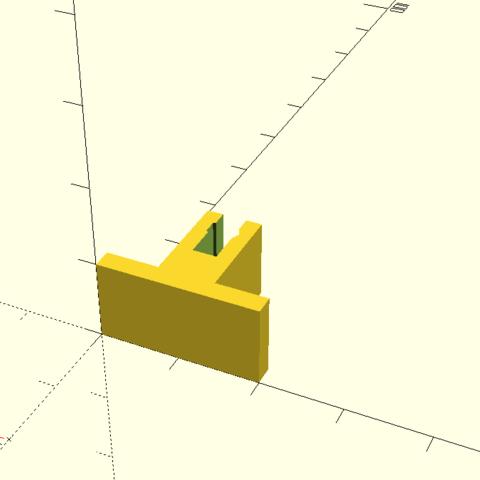 bateau1.png Download free STL file Boat motor support RC • 3D printable template, Birdo-3D