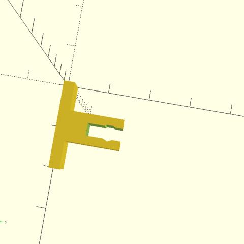 bateau2.png Download free STL file Boat motor support RC • 3D printable template, Birdo-3D