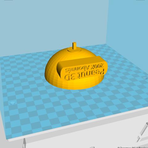 Capture d'écran 2018-11-28 19:23:28.png Download free STL file Peanut 3D Trophy 200k • 3D print object, Birdo-3D