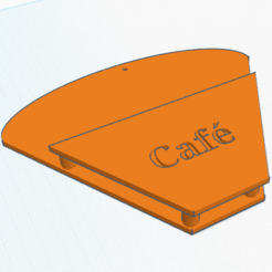 Free 3D print files Holder for coffee filters, Birdo-770