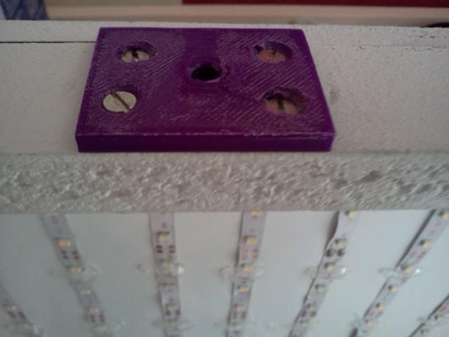 IMG1593.jpg Download free STL file DIY lighting bracket (with 1/4 nut) • 3D printing template, Birdo-3D