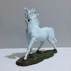 Free STL Horse, AngelSpy