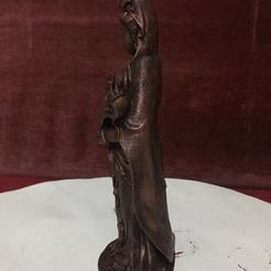 Free 3D printer model Guanyin bodhisattva Kwan-yin 3d model , AngelSpy