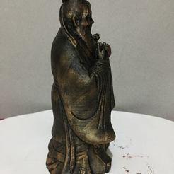 Modelos 3D para imprimir gratis Estatua de Confucio, AngelSpy