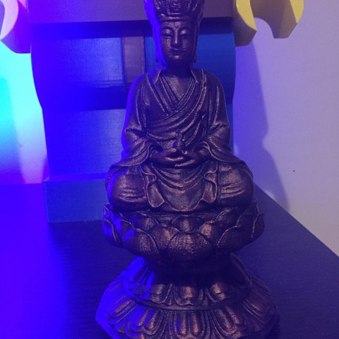 Free STL Kshitigarbha buddha, AngelSpy