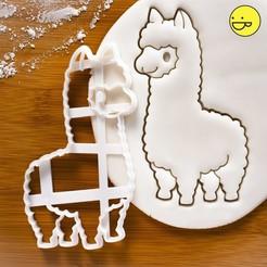 Download 3D printer files Alpaca punch, alexis6251062510
