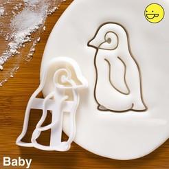 Télécharger objet 3D Emporte pièce Bébé Pingouin, alexis6251062510