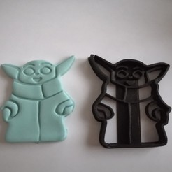 Download free 3D printer designs Yoda Baby Coin Cutter, alexis6251062510
