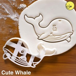 Download 3D print files Whale piece cutter, alexis6251062510