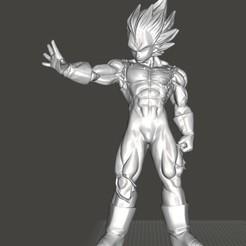 IMG_20191219_155009.jpg Télécharger fichier STL majin vegeta dragon ball z • Plan à imprimer en 3D, bonzaiidjl