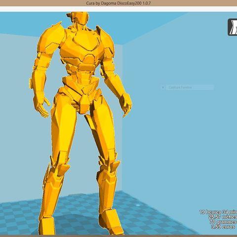 Download free STL file saber athena pacific rim 2 uprising robot mech film figure character art • 3D printing object, bonzaiidjl