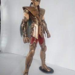 Télécharger objet 3D figurine saint Seiya de la Vierge, chevalier du zodiaque, bonzaiidjl