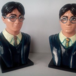 Download free STL file Harry Potter! • 3D printer model, bonzaiidjl