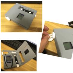 Modelos 3D gratis caja de glucómetro, rubenzilzer