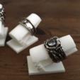 Download free 3D printer files ring display, rubenzilzer