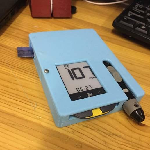 IMG_0142.JPG Télécharger fichier STL gratuit glucomètre FreeStyle Optium Neo • Modèle pour impression 3D, rubenzilzer