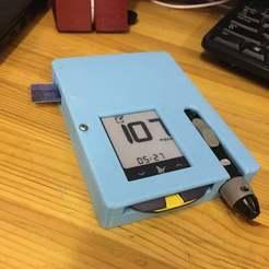 IMG_0142.JPG Download free STL file glucometer FreeStyle Optium Neo case • 3D printing model, rubenzilzer