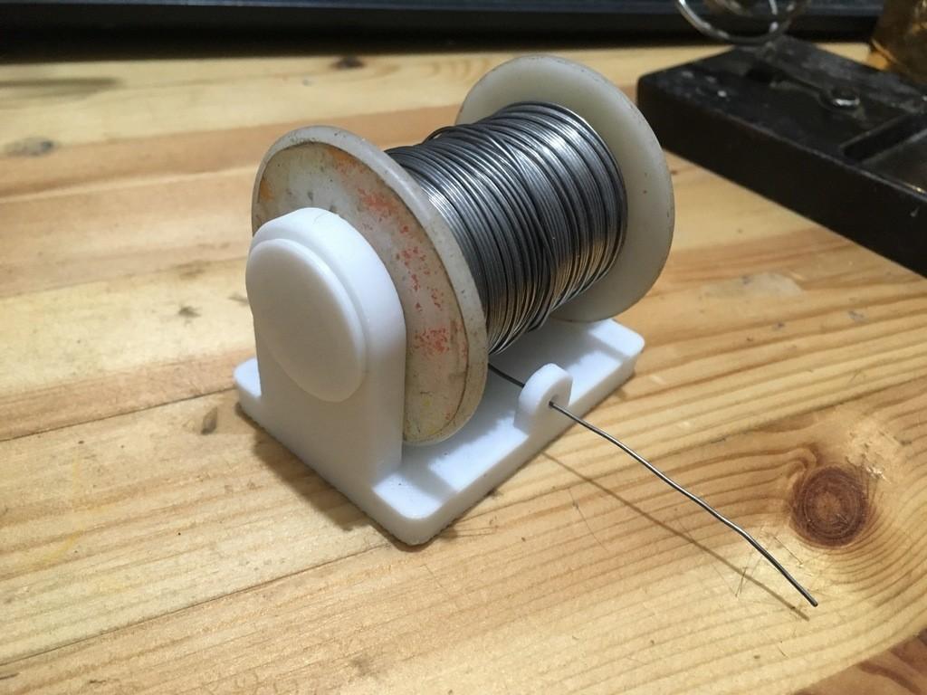 266bf4a663f38fa8ea95351c37540d8b_display_large.jpg Télécharger fichier STL gratuit support de bobine de station à souder et extras • Design pour imprimante 3D, rubenzilzer