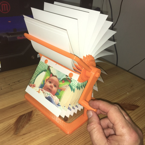 Free 3D printer file mutoscope (simple kinetoscope), rubenzilzer