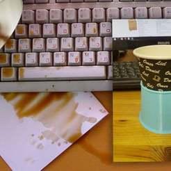spilledcoffee2.jpg Download free STL file paper cup holder • 3D printer design, rubenzilzer