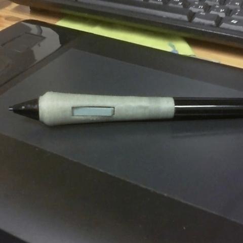 Télécharger modèle 3D gratuit Poignée de stylo Intuos Wacom, rubenzilzer