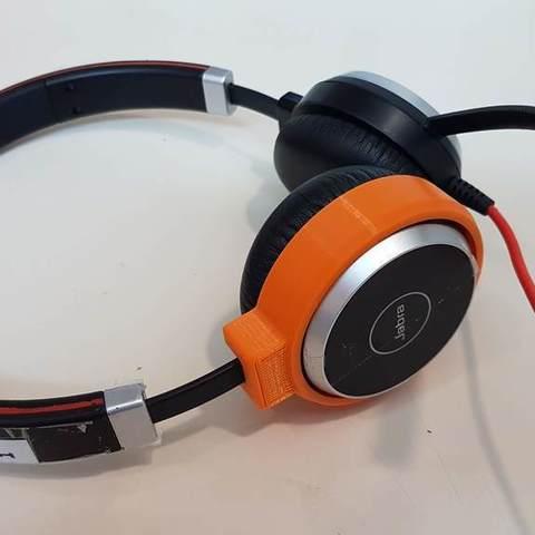 Descargar STL gratis Anillo de reparación para auriculares Jabra, rubenzilzer
