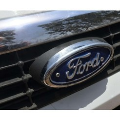 Download free 3D printing templates ford logo, rubenzilzer