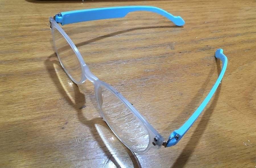 lentesanalia.jpg Télécharger fichier STL gratuit remplacement des branches de lunettes • Objet pour impression 3D, rubenzilzer