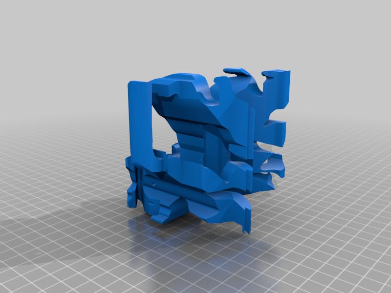 thesphinkriddle3.png Télécharger fichier STL gratuit L'énigme du Sphinx : l'angle magique • Objet à imprimer en 3D, rubenzilzer