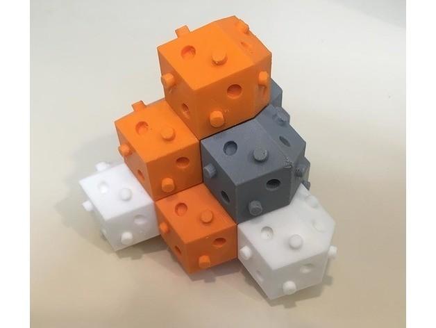 63068b750404c94cc11402262136577a_preview_featured.jpg Télécharger fichier STL gratuit bloc de bulbe rhom-dod (dodécaèdre rhombique) • Design à imprimer en 3D, rubenzilzer