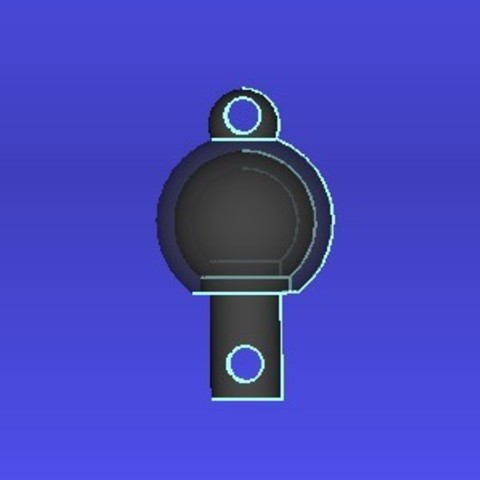 Free 3D model Ball joint Key helper, MrsXYZ