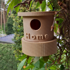 Download free 3D printing designs Tiny Birdhouse, MrsXYZ