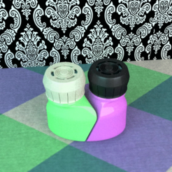 selpoivre.PNG Download free STL file Salt & Pepper Mill Set • 3D printable design, ernestmocassin