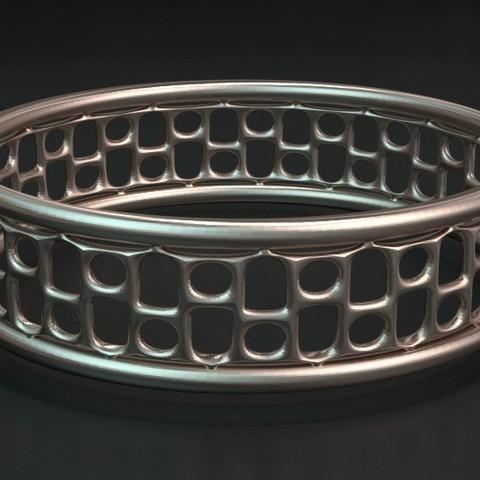 Free STL Bracelet16, ernestmocassin