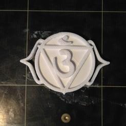 3D print model Chakra 6 Ajna - Third eye, ernestmocassin