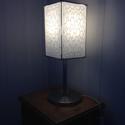Free 3D print files Lamp Voronoi, ernestmocassin